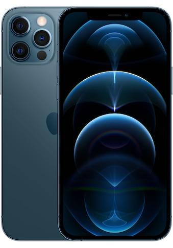 """Apple Smartphone »iPhone 12 Pro«, (15,5 cm/6,1 """" 128 GB Speicherplatz, 12 MP Kamera), ohne Strom Adapter und Kopfhörer, kompatibel mit AirPods, AirPods Pro, Earpods Kopfhörer kaufen"""