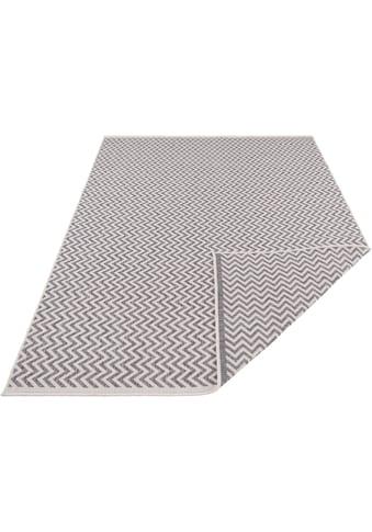 freundin Home Collection Teppich »Ivy 2«, rechteckig, 5 mm Höhe, In- und Outdoor geeignet, Wendeteppich, Wohnzimmer kaufen