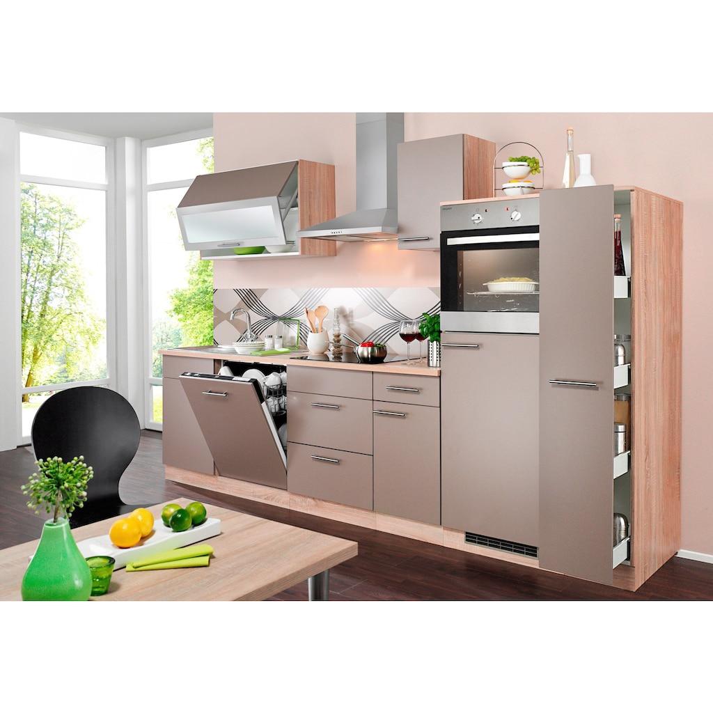 wiho Küchen Apothekerschrank »Montana«, Auszug mit 4 Ablagefächern