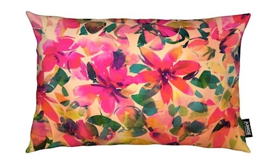Juniqe Dekokissen »Helena Floral«, Weiches, allergikerfreundliches Material kaufen