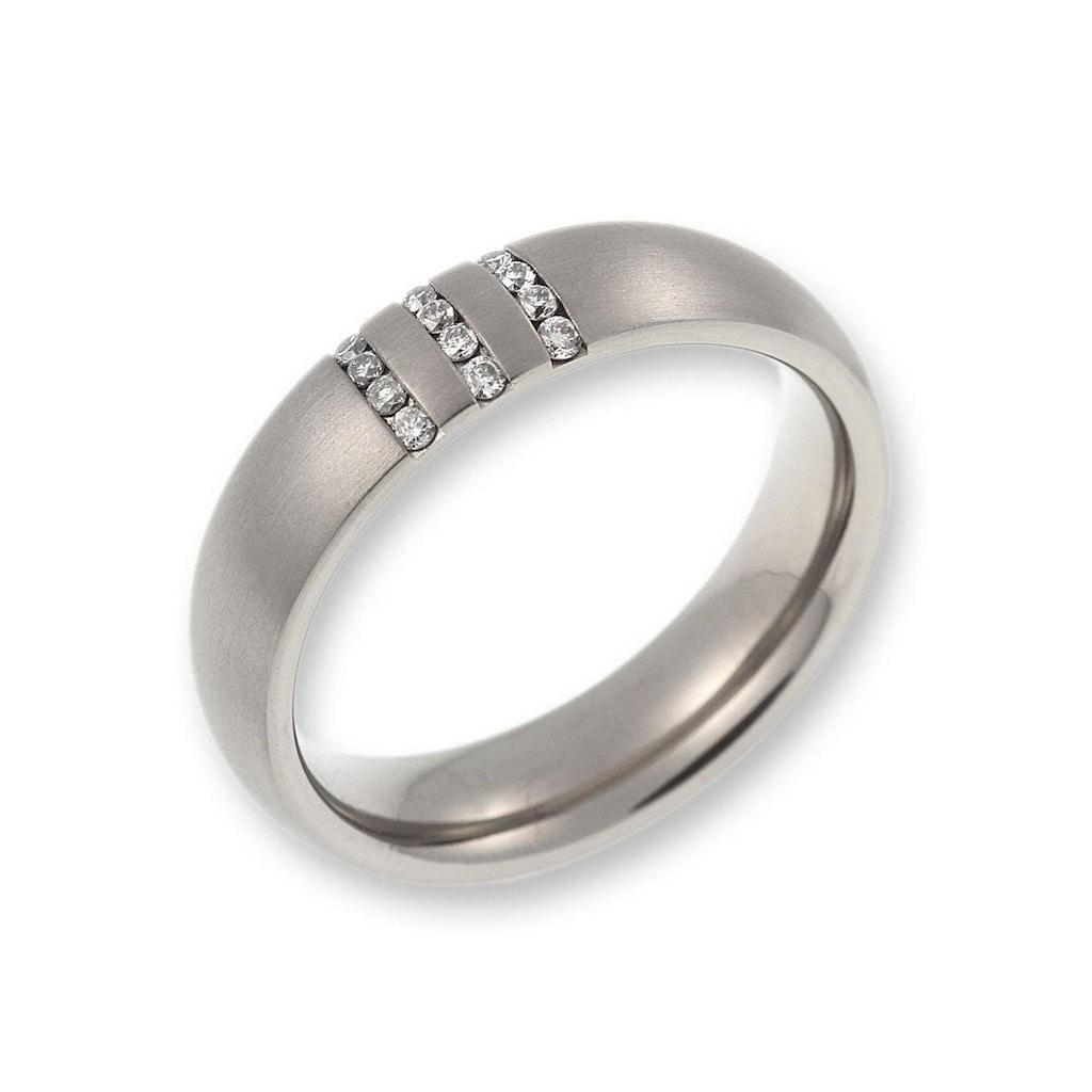 CORE by Schumann Design Trauring »20006151-DR, 20006151-HR, ST003.12«, Made in Germany - wahlweise mit oder ohne Diamanten