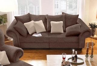 home affaire big sofa king henry in legerer polsterung und vielen losen kissen kaufen baur. Black Bedroom Furniture Sets. Home Design Ideas