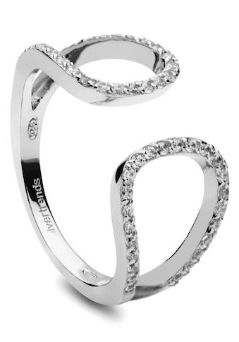 NANA KAY Silberring »Silver Edge, ST1259«, mit Zirkonia kaufen
