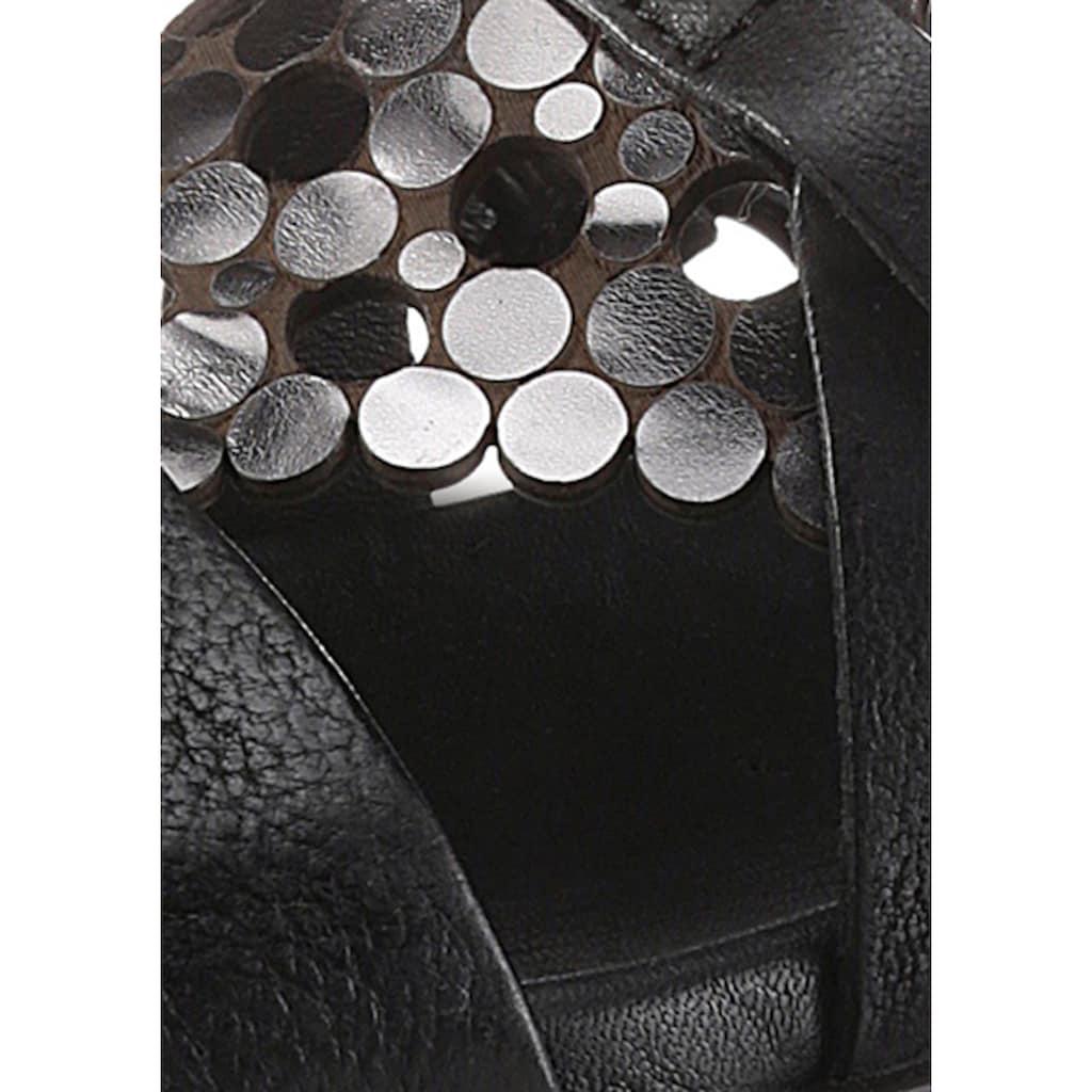 Mjus Sandalette »KETTA«, mit Schmuckelementen