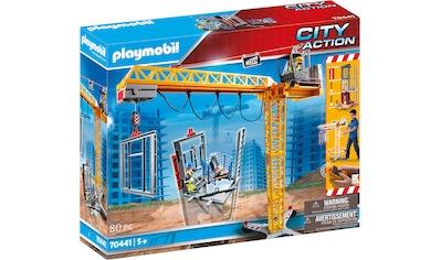Playmobil® Konstruktions-Spielset »RC-Baukran mit Bauteil (70441), City Action«, ; Made in Germany kaufen