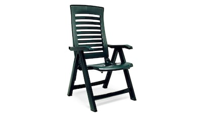 BEST Gartenstuhl »Forida«, (2er Set), Kunststoff, verstellbar, grün kaufen