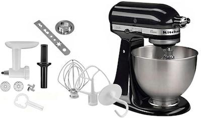 KitchenAid Küchenmaschine Classic 5K45SS EOB, inkl. Sonderzubehör im Wert von ca. 112, - € UVP, 275 Watt, Schüssel 4,3 Liter kaufen