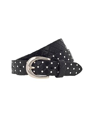 b.belt Ledergürtel, mit Prägung und Nieten kaufen