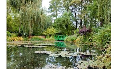 Papermoon Fototapete »Monets Garten«, Vliestapete, hochwertiger Digitaldruck kaufen