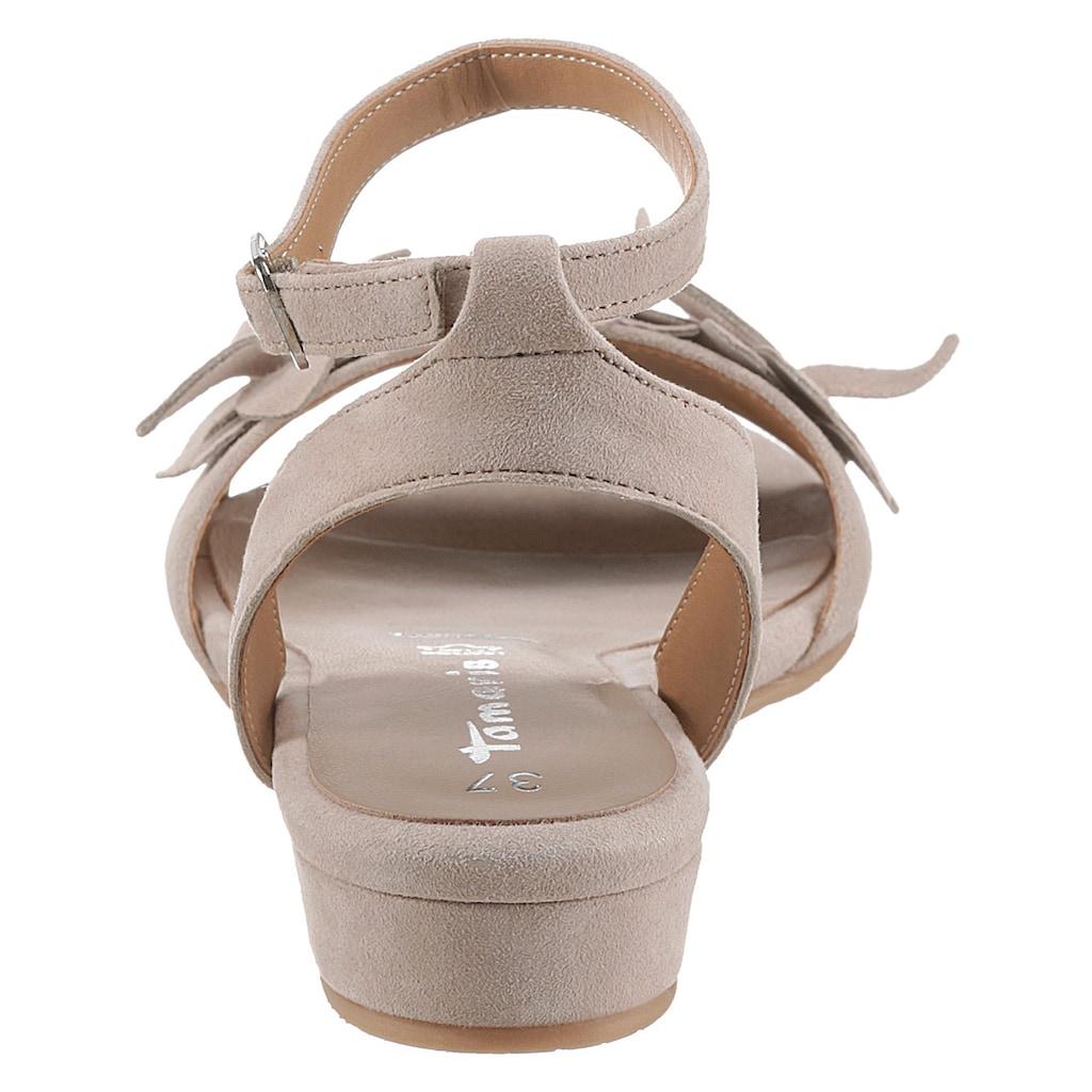Tamaris Sandalette »NIVA«, mit verstellbarem Fesselriemchen