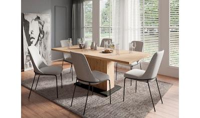 Homexperts Essgruppe »Aiko« (Set, 5 - tlg Esstisch mit 4 Stühlen) kaufen