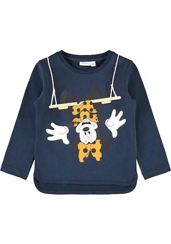 Name It Sweatshirt »NKFMINNIE«, mit lustigem Druck kaufen