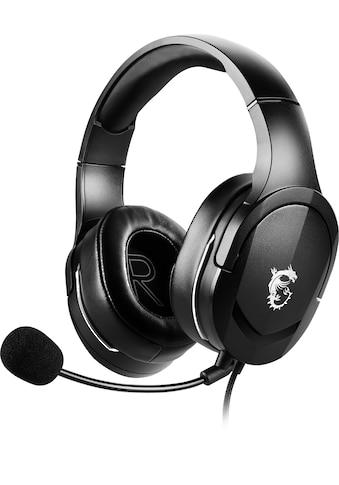 MSI Gaming-Headset »Immerse GH20«, Ultraleichtgewicht nur 245 Gramm kaufen