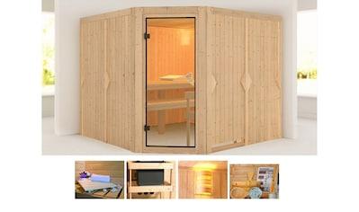 KONIFERA Sauna »Evka«, 231x231x198 cm, ohne Ofen kaufen
