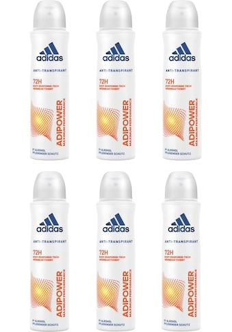 adidas Performance Deo-Spray »adipower«, (Spar-Set, 6 tlg.), Anti-Transpirant Spray... kaufen