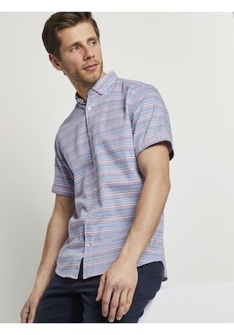 TOM TAILOR Kurzarmhemd »Gestreiftes Hemd« kaufen
