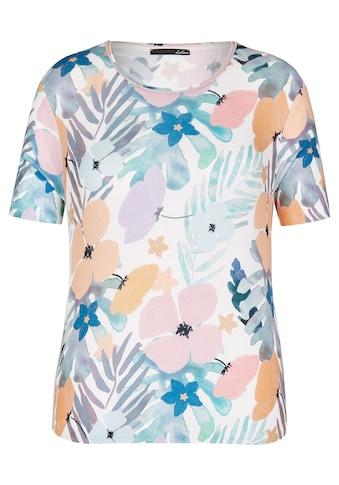 LeComte Shirt mit Allover - Print und Rundhalsausschnitt kaufen