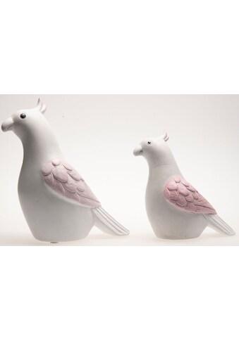 VALENTINO Wohnideen Tierfigur »Papagei Marle«, aus Keramik kaufen
