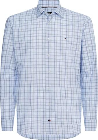 TOMMY HILFIGER Langarmhemd »CHECK REG SHIRT« kaufen