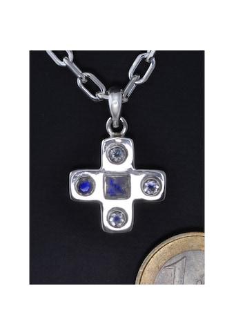 Adelia´s Kettenanhänger »Mondstein Anhänger Kreuz« kaufen