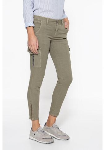 ATT Jeans Stretch-Hose »Carolin«, mit aufgesetzten Taschen am Oberschenkel kaufen
