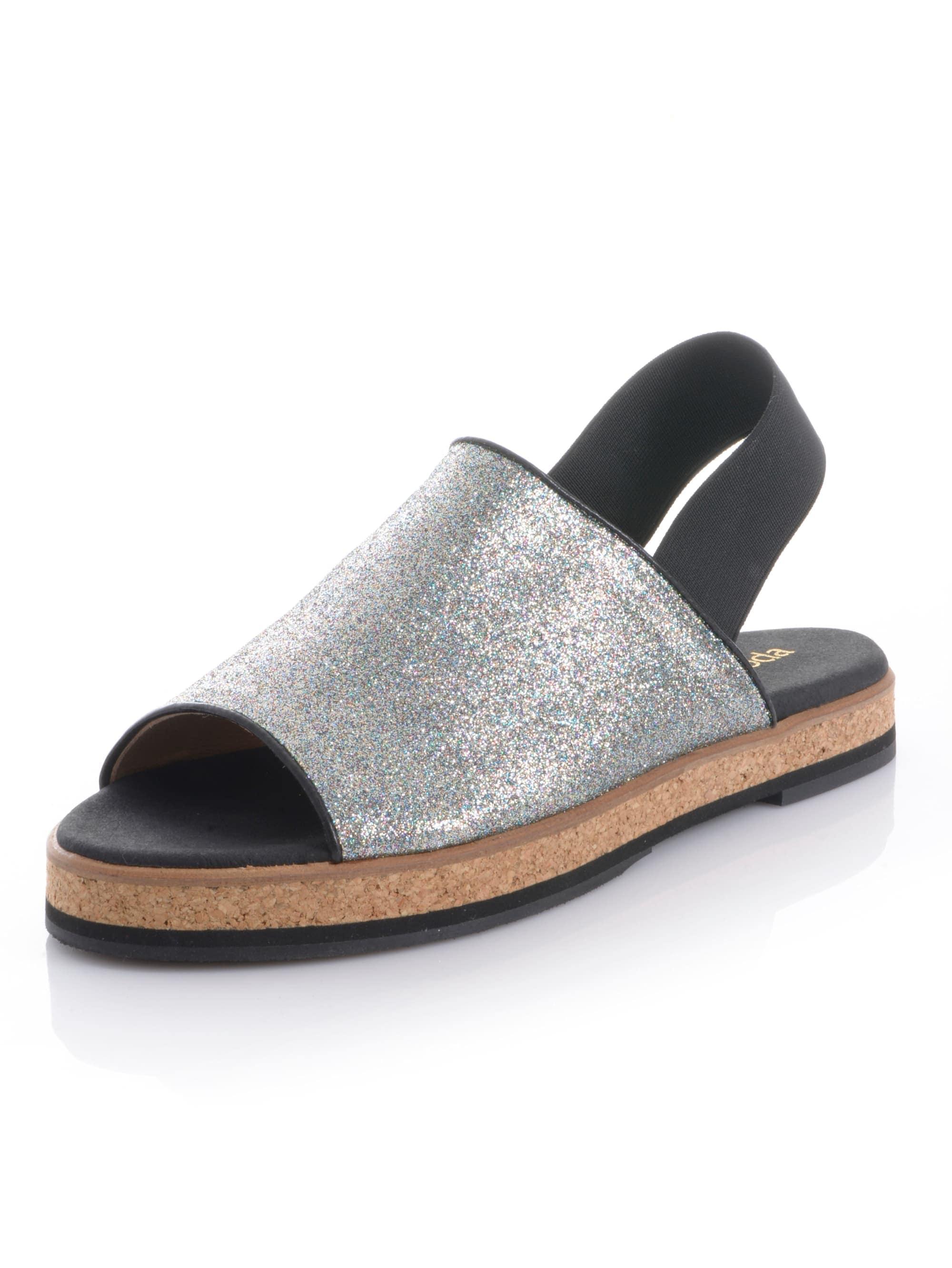 alba moda -  Sandalette, in Peeptoe-Form
