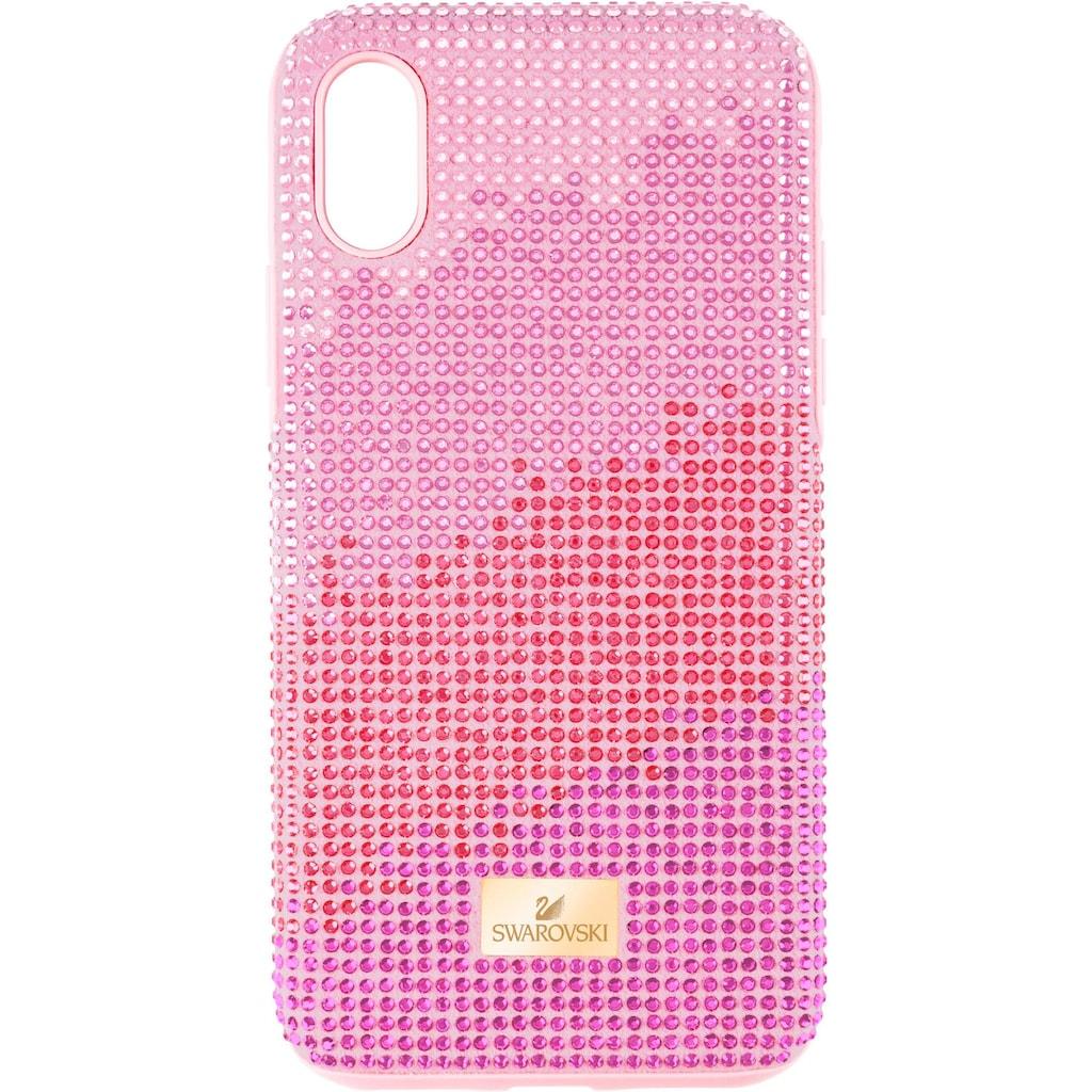 Swarovski Smartphone-Hülle »High Love Smartphone Schutzhülle mit Stoßschutz, iPhone® X/XS, rosa, 5449510«, iPhone X/XS, mit Swarovski® Kristallen