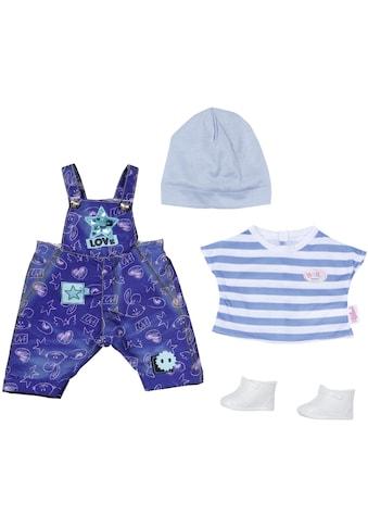 Baby Born Puppenkleidung »Deluxe Jeans Latzhosen Set«, (Set) kaufen