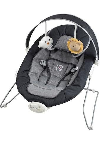 BabyGo Babywippe »Cozy, anthracite«, bis 9 kg, mit Sound und Vibrationsfunktion kaufen