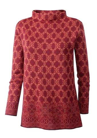 Inspirationen Pullover mit extravagantem Trichterkragen kaufen