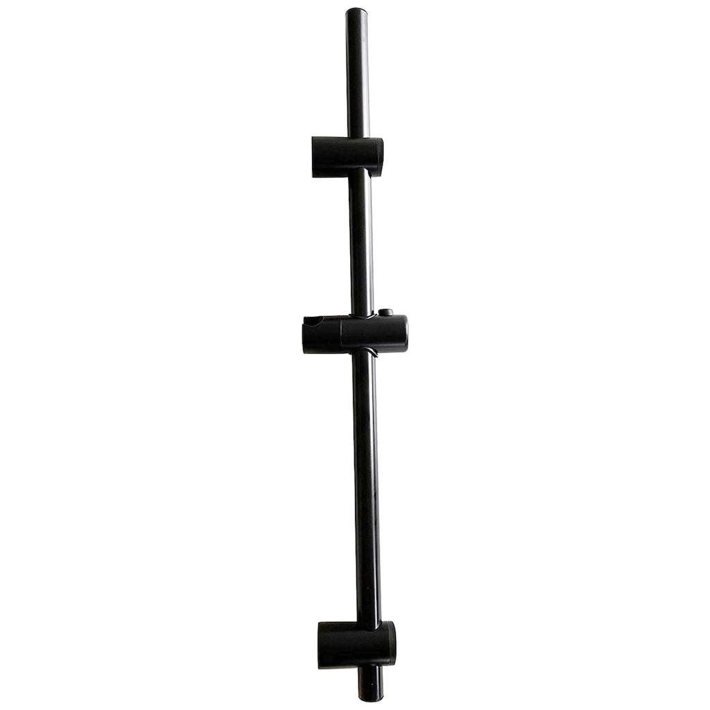 ADOB Stangenbrause-Set, schwarz matt