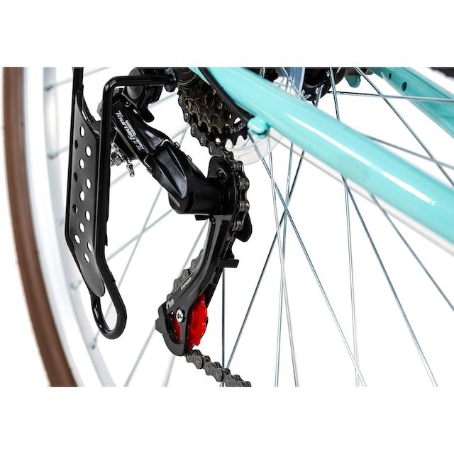KS Cycling Cityrad »SiX«, 6 Gang Shimano Tourney Schaltwerk, Kettenschaltung
