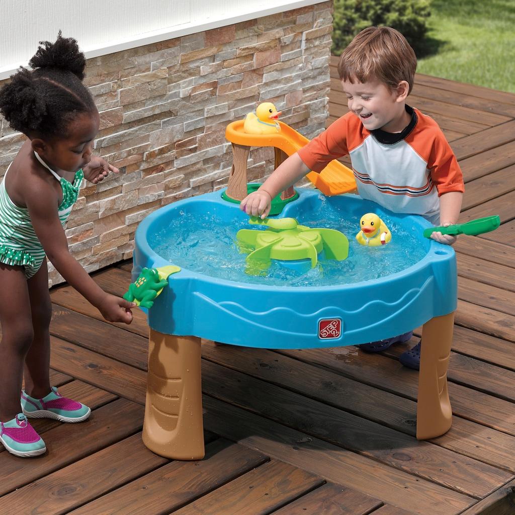 STEP2 Sand- und Wasserspieltisch »Duck Pond«, BxLxH: 80x80x62 cm