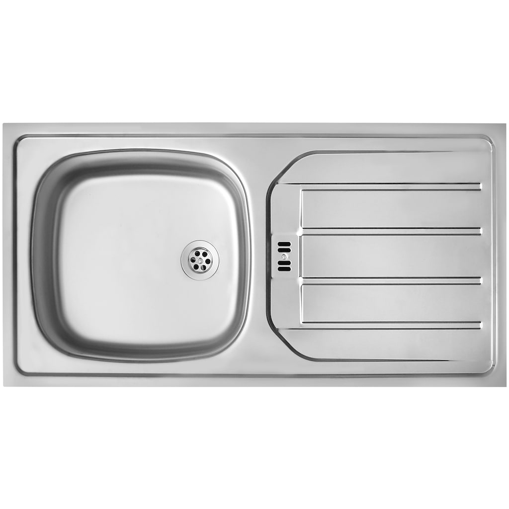 HELD MÖBEL Küchenzeile »Palermo«, mit E-Geräten, Breite 300 cm