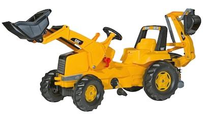 ROLLY TOYS Tretfahrzeug »CAT«, Kindertraktor mit Lader und Heckbagger kaufen
