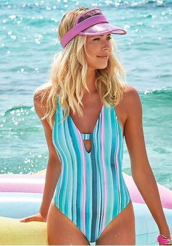 Venice Beach Badeanzug, mit vertikalen Streifen und Strukturware kaufen