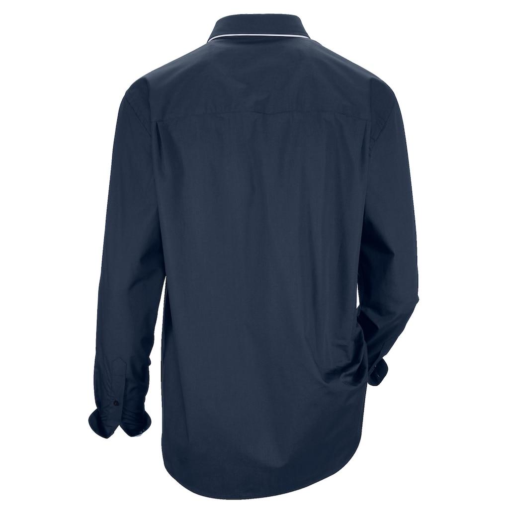 Babista Langarmhemd, mit Doppelkragen im Button-Down-Stil