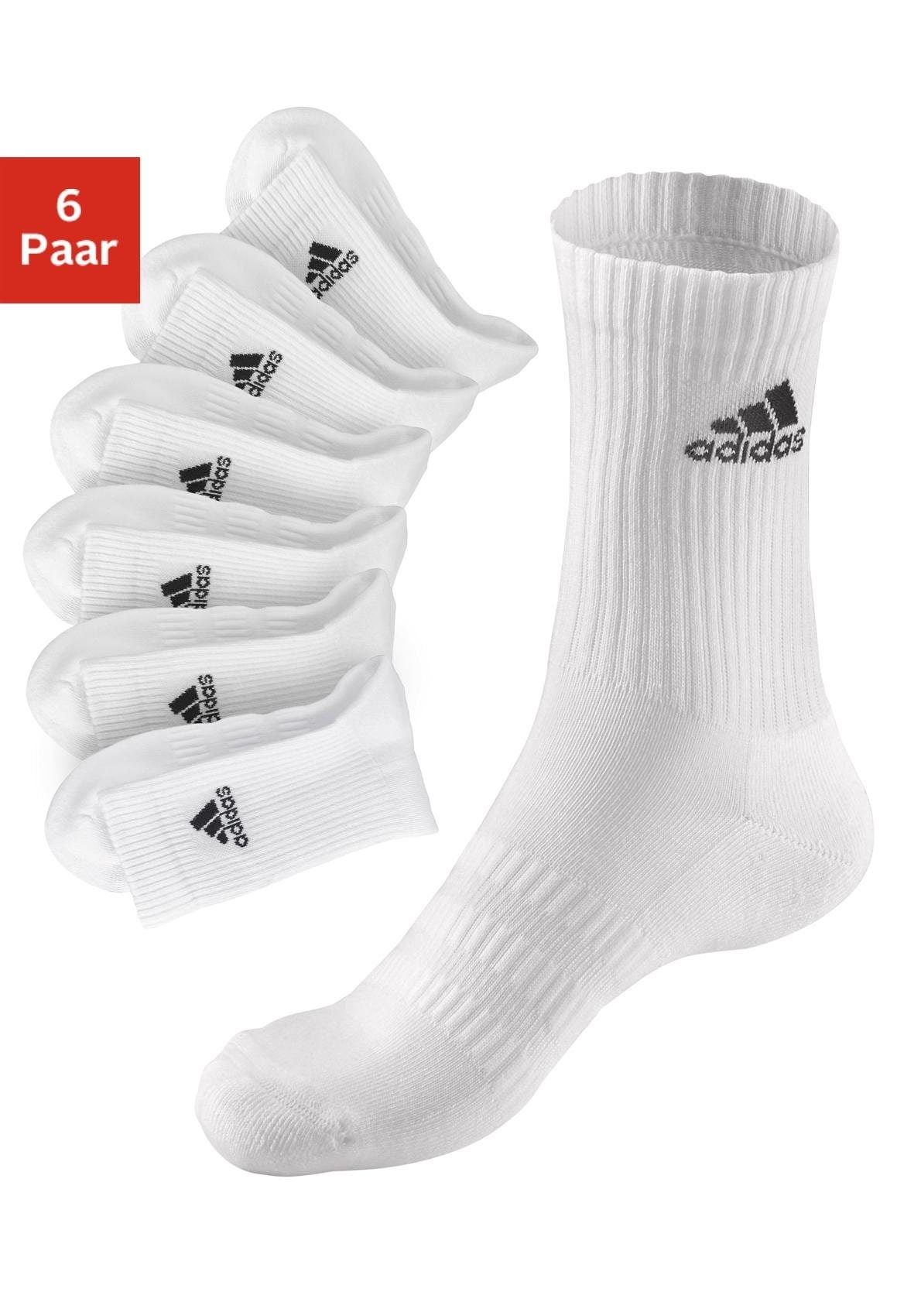 adidas Performance Tennissocken (6 Paar) Herrenmode/Wäsche & Bademode/Wäsche/Socken/Sportsocken/Tennissocken