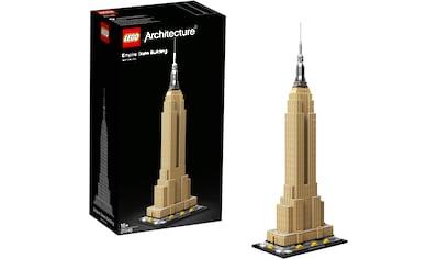 LEGO® Konstruktionsspielsteine »Empire State Building (21046), LEGO® Architecture«, (1767 St.), Made in Europe kaufen