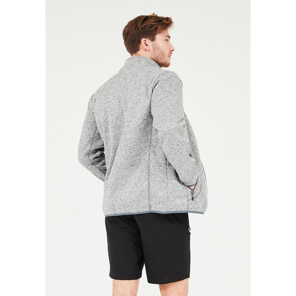 WHISTLER Fleecejacke »Sampton M Melange Fleece Jacket«, aus schnell trocknenden Materialien