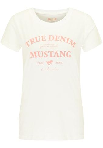 MUSTANG T-Shirt »Alexia C Print«, kurzarm kaufen