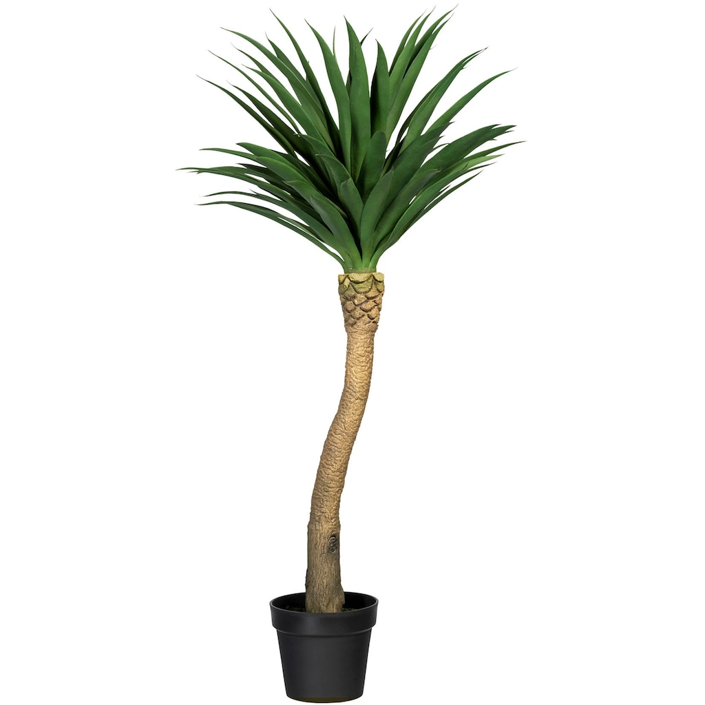 Creativ green Künstliche Zimmerpflanze »Yuccapalme Hochstamm«