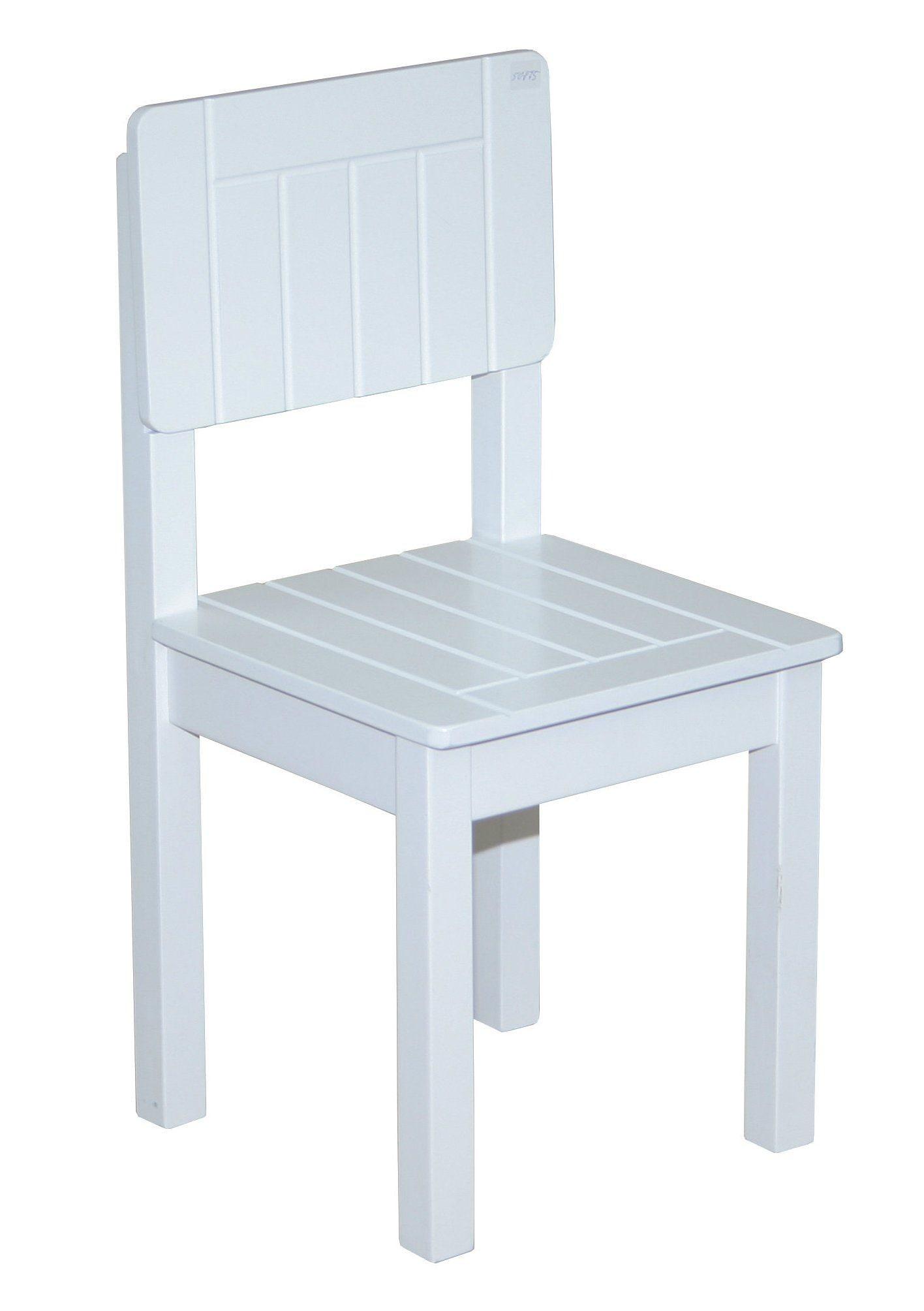 roba Stuhl Weiß, für Kinder weiß Holzspielzeug