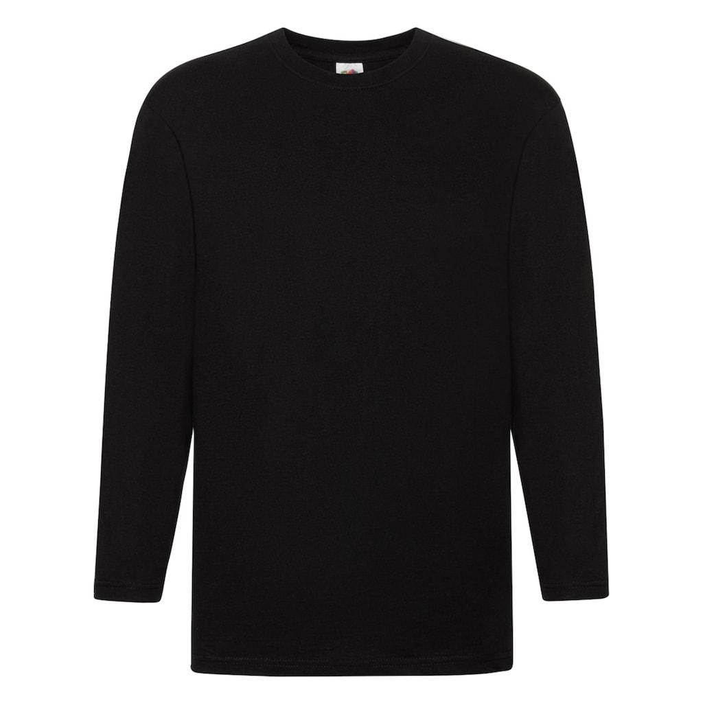 Fruit of the Loom T-Shirt »Herren Super Premium Langarm«