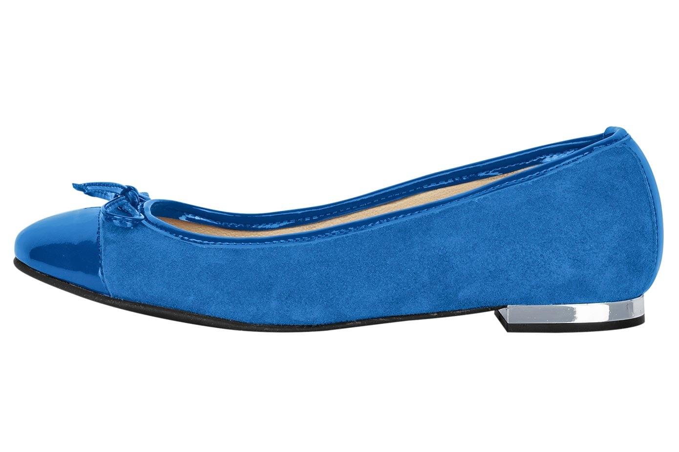 heine Ballerina blau Damen Ballerinas