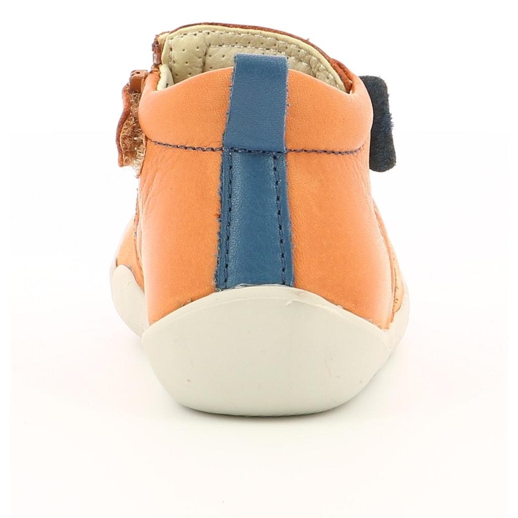 Kickers Lauflernschuh »Wazzap«, mit farbigem Einsatz