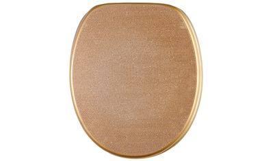 Sanilo WC-Sitz »Crystal Gold« kaufen