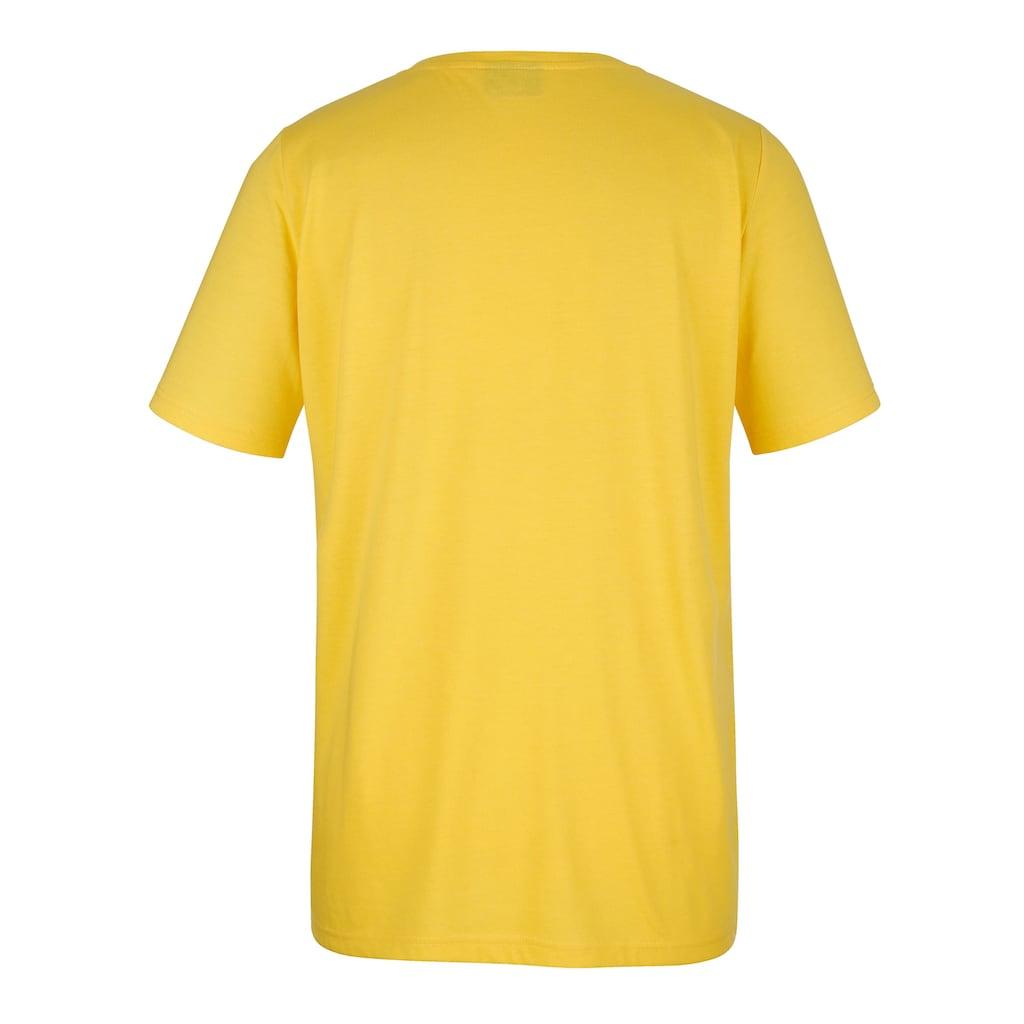 MIAMODA V-Shirt, mit streckendem V-Ausschnitt