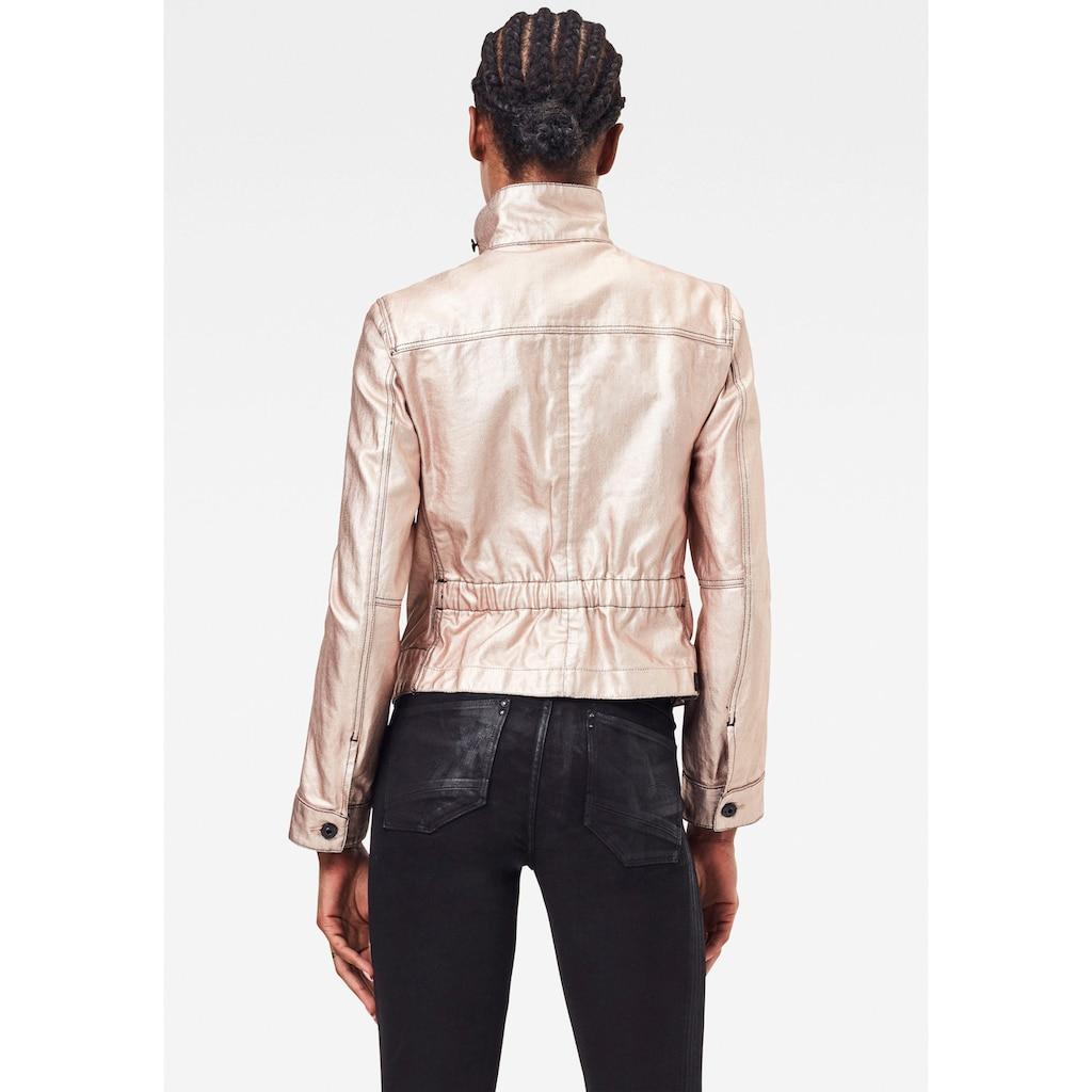 G-Star RAW Jeansjacke »Arc 3D Pilot Jacke«, mit verstellbarer und elastischer Taille