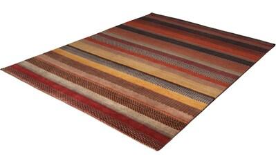 Wollteppich, »Lori Astara 1025«, THEKO, rechteckig, Höhe 16 mm, manuell geknüpft kaufen